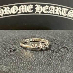 New authentic Triple Stars Chrome Hearts ring